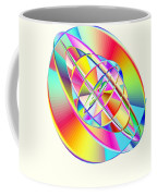 Steampunk Gyroscopic Rainbow Coffee Mug