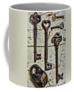 Steampunk - Old Skeleton Keys Coffee Mug