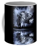 Steampunk Polar Bear Landscape Coffee Mug