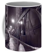 Steel Bridge Chicago Black And White Coffee Mug