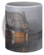 Steel Bridge In Fog Coffee Mug
