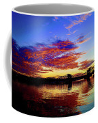 Steel Bridge Sunset Silhouette Coffee Mug