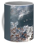Steel Sky On Lake Coffee Mug