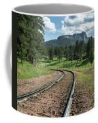 Steel Tracks In The Black Hills Coffee Mug
