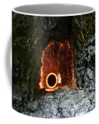Steel Wool Photography In A Cave Coffee Mug
