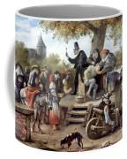 Steen: Quack, 17th Century Coffee Mug