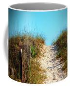Steep Beach Path Coffee Mug