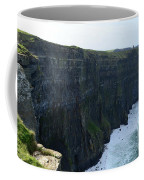 Steep Sheer Sea Cliff's Known As The Cliff's Of Moher Coffee Mug