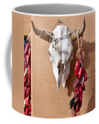 Steer Skull In Santa Fe Coffee Mug