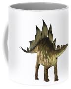 Stegosaurus Profile Coffee Mug