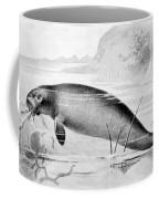 Stellers Sea Cow, Extinct Coffee Mug