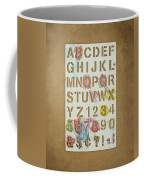 Stencil Alphabet Fun Coffee Mug