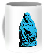 Stencil Buddha Coffee Mug