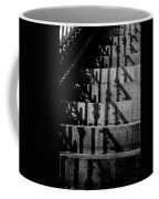 Stepping On Shadows Coffee Mug