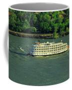 Stern Wheeler On The Columbia River  Coffee Mug