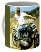 Steve Mcqueen, Triumph Motorcycle, On Any Sunday Coffee Mug