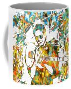 Steve Vai Paint Splatter Coffee Mug