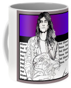 Steve Vai Sitting Coffee Mug