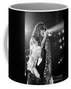 Steven Tyler In Concert Coffee Mug by Traci Cottingham