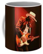 Stevie Ray Vaughan Painting Coffee Mug