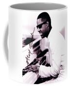 Stevie Wonder Autographed Coffee Mug