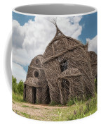 Lean On Me - Stick House Series #3 Coffee Mug
