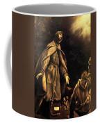 Stigmatisation Of St Francis Coffee Mug