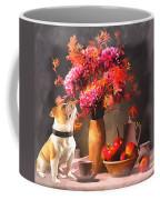 Still - Floral And Fruit Coffee Mug