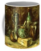 Still Life 72 - Oil On Wood Coffee Mug
