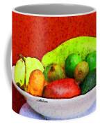 Still Life Art With Fruits Coffee Mug