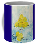 Still Life - Lemons Coffee Mug