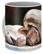 Still Life Mushrooms Coffee Mug