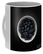 Still Life Of A Bowl Of Blueberries. Coffee Mug