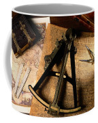Still Life Of Charts, Books Coffee Mug by Todd Gipstein