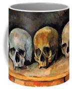 Still Life, Three Skulls Coffee Mug