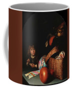 Still Life With A Boy Blowing Soap Bubbles 1636 Coffee Mug
