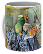 Still Life With A Ginger Jar And Eggplants Coffee Mug