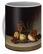 Still Life With A Wine Glass Coffee Mug by Raphaelle Peale