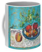 Still Life With Apples Coffee Mug
