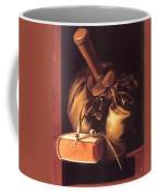 Still Life With Book And Purse Coffee Mug