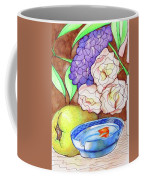 Still Life With Fish Coffee Mug by Loretta Nash