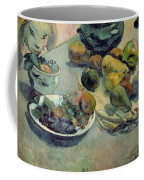 Still Life With Fruit Coffee Mug by Paul Gauguin