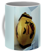 Still Life With Fruited Pottery Coffee Mug