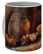 Still Life With Fruits And Pumpkin Coffee Mug