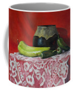 Still Life With Green Peppers Coffee Mug