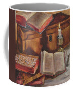 Still Life With Old Books Coffee Mug