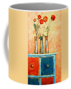 Still Life With Poppies Coffee Mug