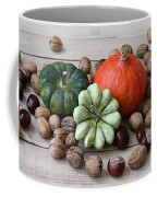 Still Life With Products Of Autumn Coffee Mug