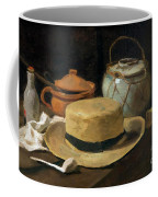 Still Life With Straw Hat, By Vincent Van Gogh, 1881, Kroller-mu Coffee Mug