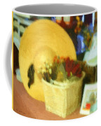 Still Life With Straw Hat Coffee Mug